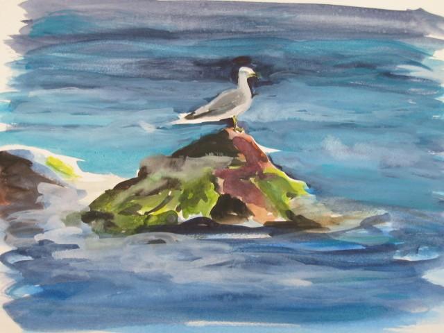 Favori pointe-beal,Pastel sur papier 32 X 30,artiste peintre moderne  TR57
