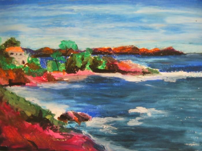 Artiste peintre contemporain artiste peintre f gautier for Artiste peintre anglais